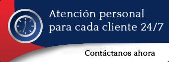 La atención personal para cada cliente 24/7